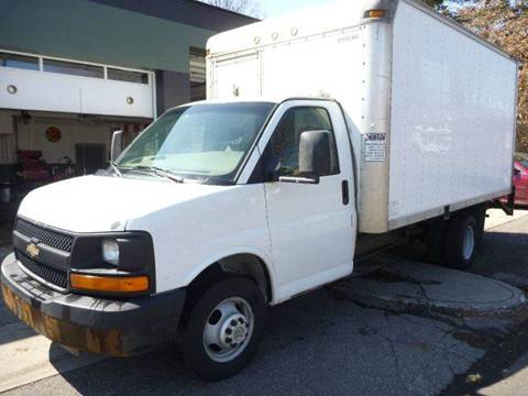 2005 Chevy Box truck for sale at Village Auto Sales in Milford CT