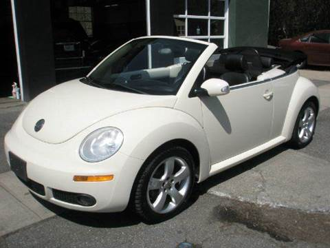 2006 Volkswagen New Beetle for sale at Village Auto Sales in Milford CT