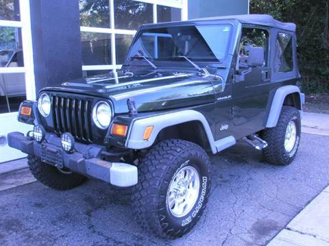 1998 Jeep Wrangler for sale at Village Auto Sales in Milford CT