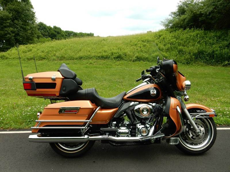 2008 Harley-Davidson Ultra Clic Electra Glide 105 Annv Edt In ...