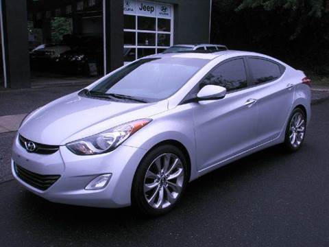 2012 Hyundai Elantra for sale at Village Auto Sales in Milford CT