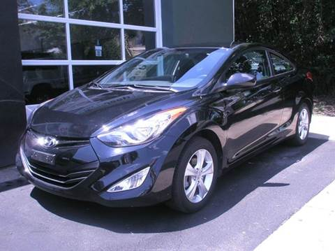 2013 Hyundai Elantra Coupe for sale at Village Auto Sales in Milford CT