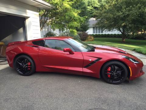 2014 Chevrolet Corvette Stingray for sale at Village Auto Sales in Milford CT