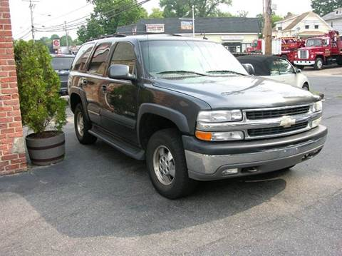 2003 Chevrolet Tahoe for sale at Village Auto Sales in Milford CT