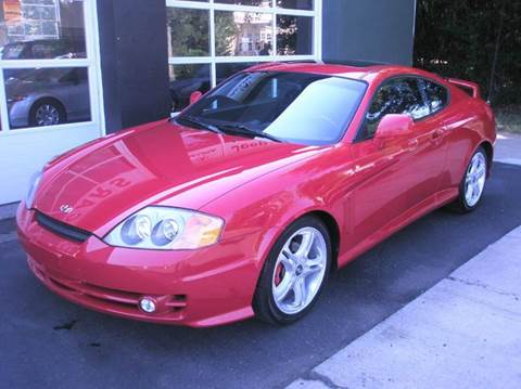 2004 Hyundai Tiburon for sale at Village Auto Sales in Milford CT