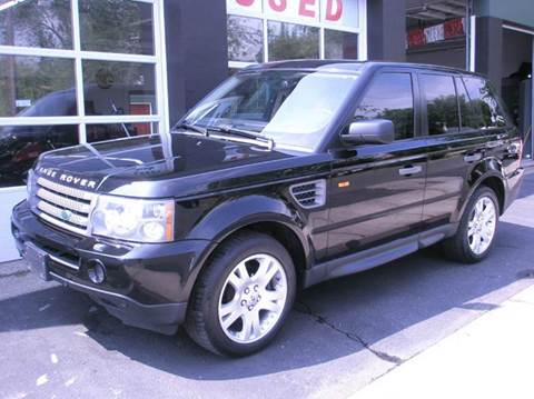 2006 Land Rover Range Rover Sport for sale at Village Auto Sales in Milford CT