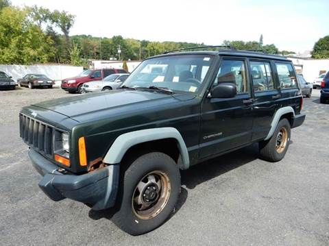 1997 Jeep Cherokee for sale at Village Auto Sales in Milford CT
