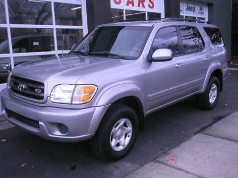 2001 Toyota Sequoia for sale at Village Auto Sales in Milford CT