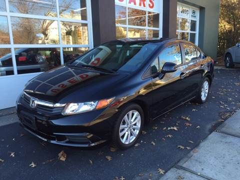 2012 Honda Civic for sale at Village Auto Sales in Milford CT