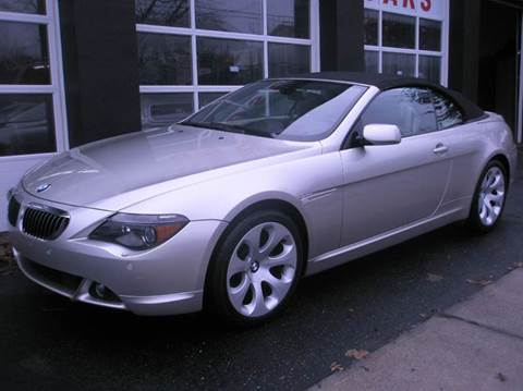 2006 BMW 6 Series for sale at Village Auto Sales in Milford CT