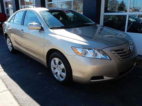 2007 Toyota Camry for sale at Village Auto Sales in Milford CT