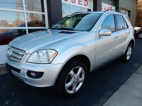 2008 Mercedes-Benz M-Class for sale at Village Auto Sales in Milford CT