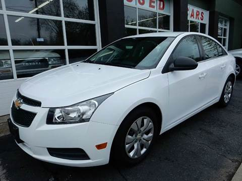 2012 Chevrolet Cruze for sale at Village Auto Sales in Milford CT