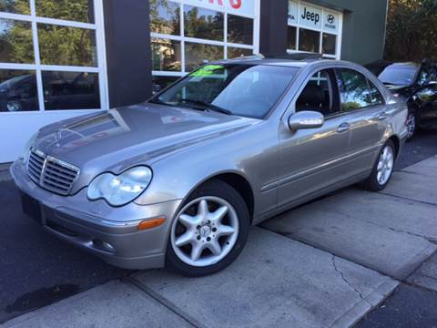 2003 Mercedes-Benz C-Class for sale at Village Auto Sales in Milford CT
