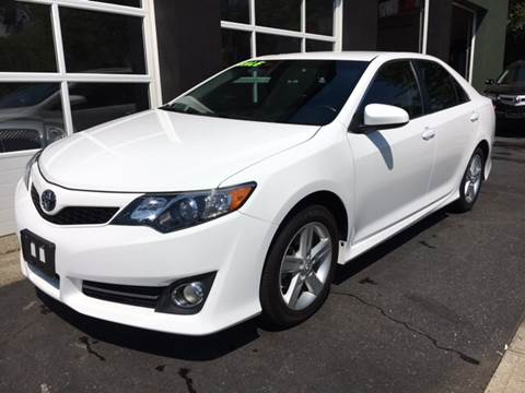 2014 Toyota Camry for sale at Village Auto Sales in Milford CT