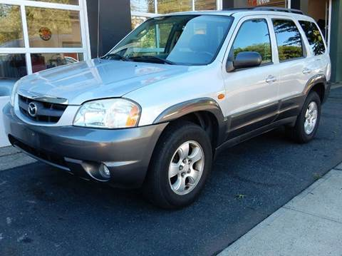 2004 Mazda Tribute for sale at Village Auto Sales in Milford CT