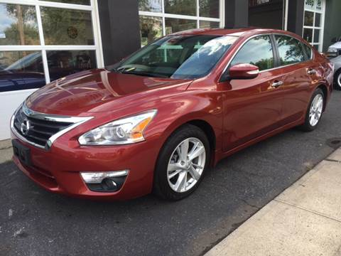 2013 Nissan Altima for sale at Village Auto Sales in Milford CT