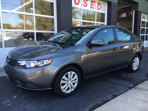 2013 Kia Forte for sale at Village Auto Sales in Milford CT