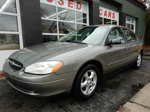 2002 Ford Taurus for sale at Village Auto Sales in Milford CT