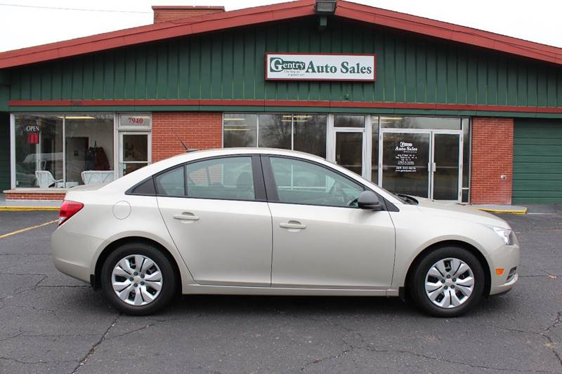 2014 Chevrolet Cruze for sale at Gentry Auto Sales in Portage MI