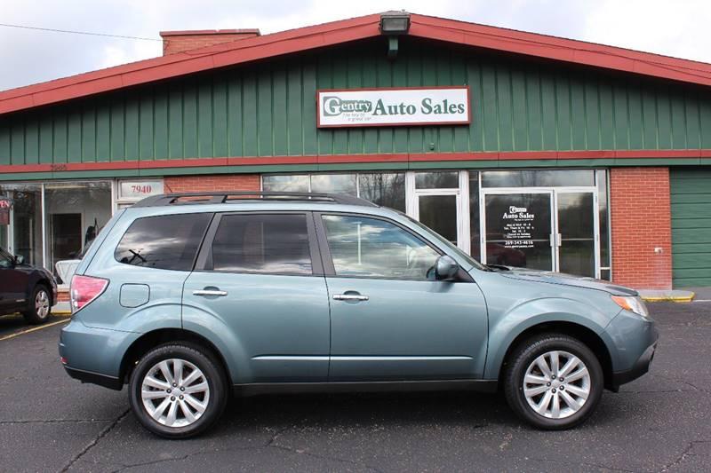 2012 Subaru Forester for sale at Gentry Auto Sales in Portage MI
