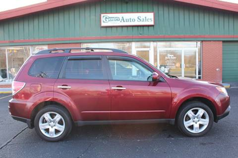 2009 Subaru Forester for sale at Gentry Auto Sales in Portage MI