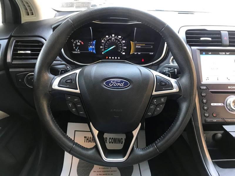 2017 Ford Fusion Titanium 4dr Sedan - Philladelphia PA