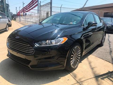 2017 Ford Fusion for sale at The PA Kar Store Inc in Philladelphia PA