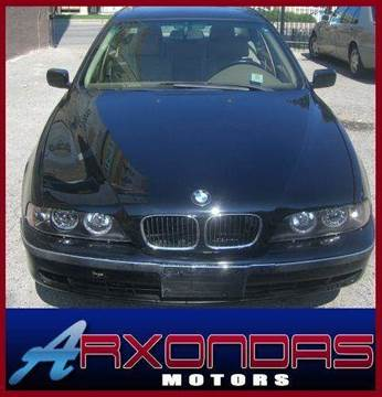 2000 BMW 5 Series for sale at ARXONDAS MOTORS in Yonkers NY