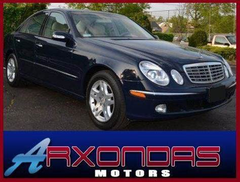 2003 Mercedes-Benz E-Class for sale at ARXONDAS MOTORS in Yonkers NY