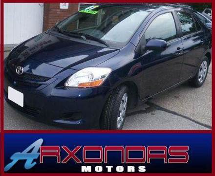 2007 Toyota Yaris for sale at ARXONDAS MOTORS in Yonkers NY