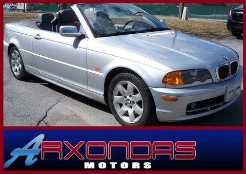 2000 BMW 3 Series for sale at ARXONDAS MOTORS in Yonkers NY