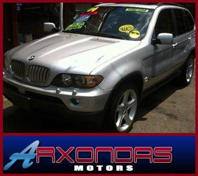 2004 BMW X5 for sale at ARXONDAS MOTORS in Yonkers NY