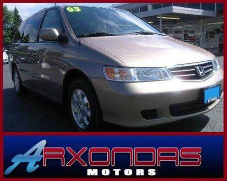 2003 Honda Odyssey for sale at ARXONDAS MOTORS in Yonkers NY