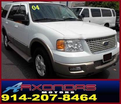 2004 Ford Expedition for sale at ARXONDAS MOTORS in Yonkers NY