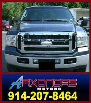 2005 Ford F-250 for sale at ARXONDAS MOTORS in Yonkers NY