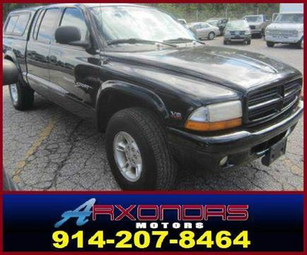 2000 Dodge Dakota for sale at ARXONDAS MOTORS in Yonkers NY