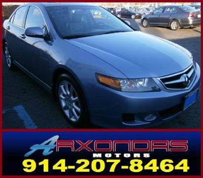 2006 Acura TSX for sale at ARXONDAS MOTORS in Yonkers NY