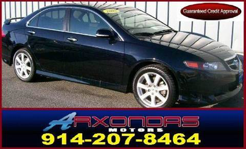 2005 Acura TSX for sale at ARXONDAS MOTORS in Yonkers NY