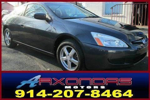 2004 Honda Accord for sale at ARXONDAS MOTORS in Yonkers NY