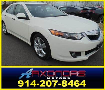 2009 Acura TSX for sale at ARXONDAS MOTORS in Yonkers NY