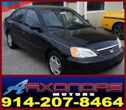 2002 Honda Civic for sale at ARXONDAS MOTORS in Yonkers NY