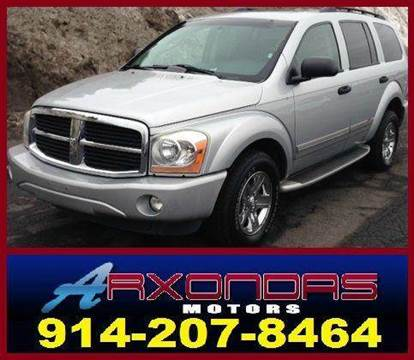2005 Dodge Durango for sale at ARXONDAS MOTORS in Yonkers NY