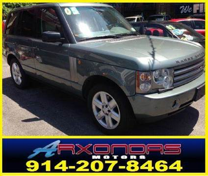 2005 Land Rover Range Rover for sale at ARXONDAS MOTORS in Yonkers NY