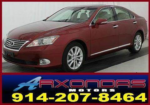 2011 Lexus ES 350 for sale at ARXONDAS MOTORS in Yonkers NY