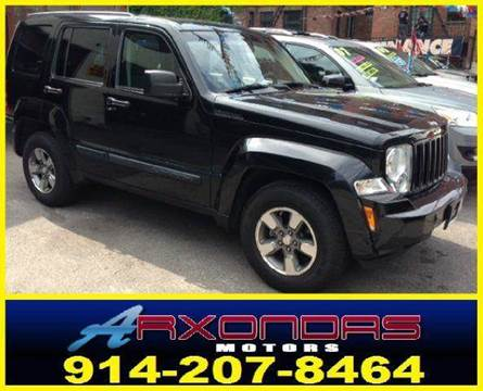 2008 Jeep Liberty for sale at ARXONDAS MOTORS in Yonkers NY