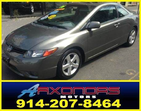 2006 Honda Civic for sale at ARXONDAS MOTORS in Yonkers NY
