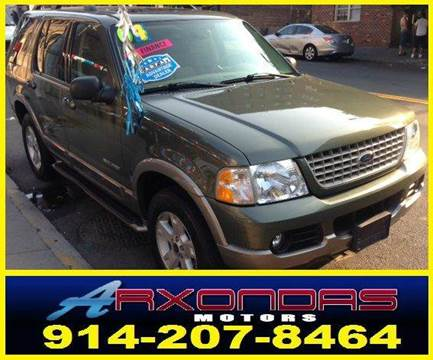 2004 Ford Explorer for sale at ARXONDAS MOTORS in Yonkers NY