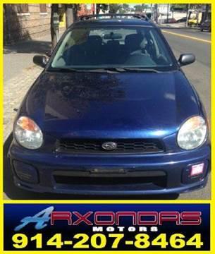 2002 Subaru Impreza for sale at ARXONDAS MOTORS in Yonkers NY