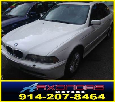 2003 BMW 5 Series for sale at ARXONDAS MOTORS in Yonkers NY
